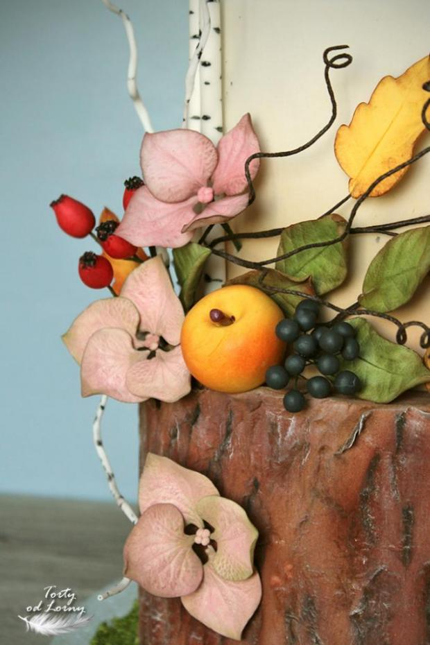 Svadobná jesenná torta, Svadobné torty, Lorna 2