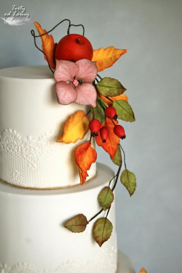 Svadobná jesenná torta, Svadobné torty, Lorna 3