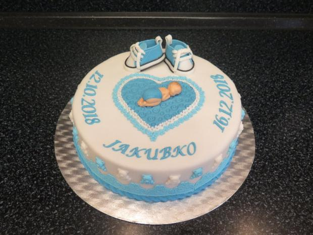 Jakubko torta, Torty na krstiny, alapk