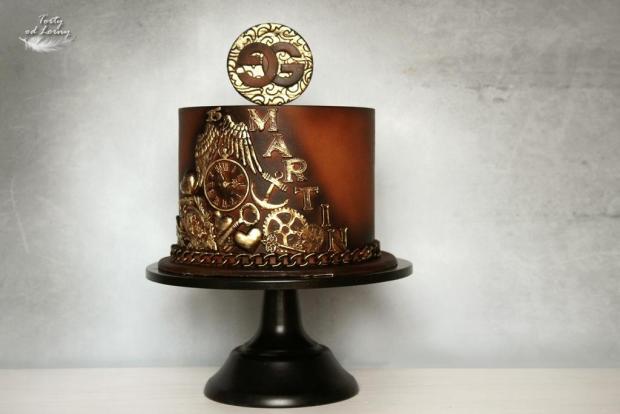 Narodeninová - Gucci torta, Narodeninové torty, Lorna