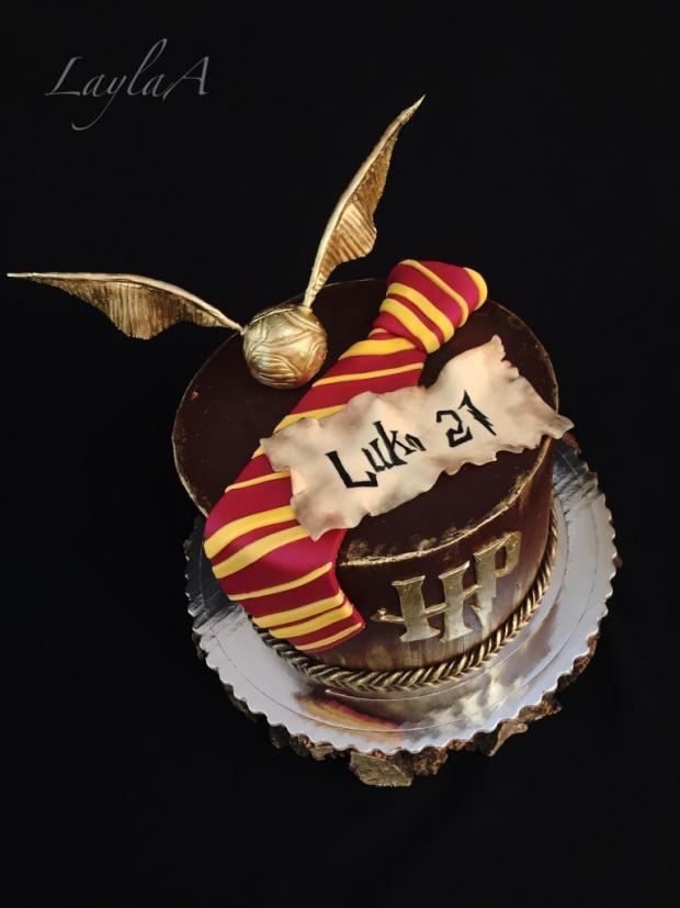 harry potter tårta recept