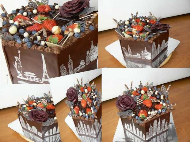 Čokoládová torta torta, Čokoládové torty, yvetta11111