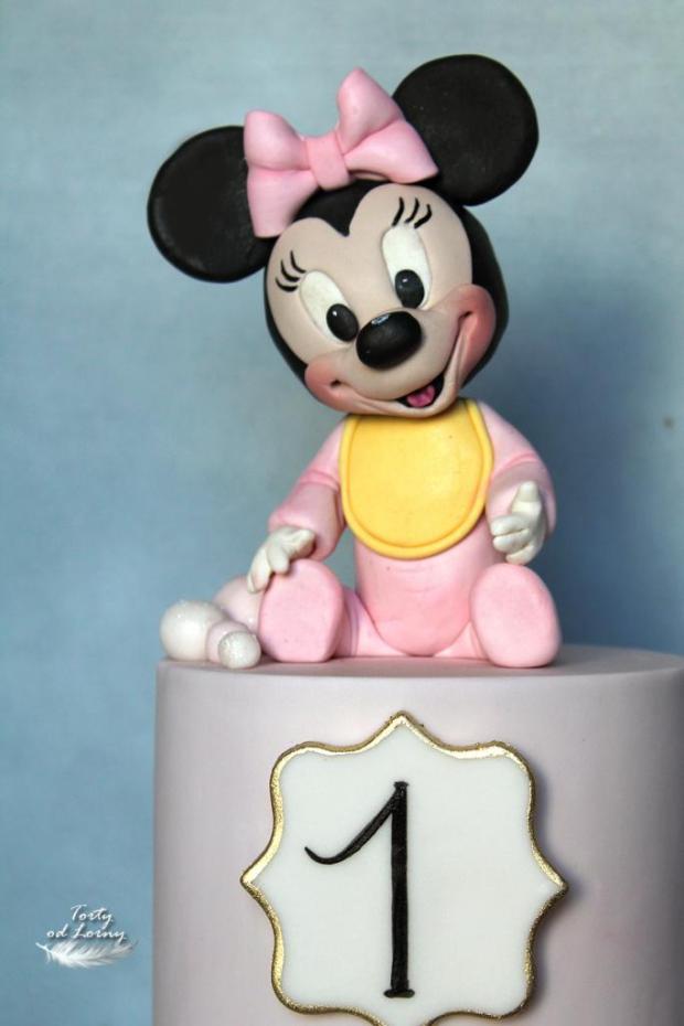 Minnie mouse baby 3 torta, Rozprávkové torty, Lorna 2