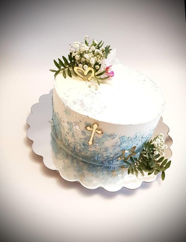 Torta na 1. sväte prijimanie, Autor: Michaela Hybská