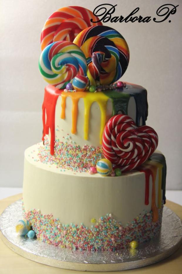 Lízátkový torta, Ostané torty pre deti, BarboraP.