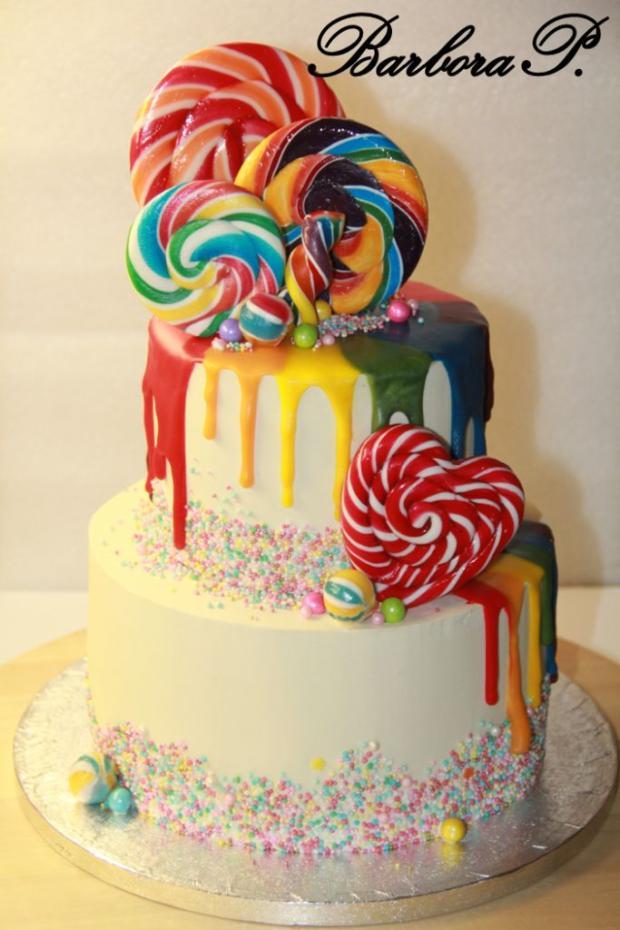Lízátkový torta, Ostané torty pre deti, BarboraP. 2