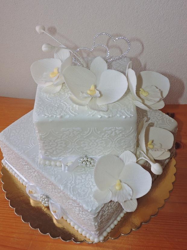 biela torta, Svadobné torty, Obertová Mária
