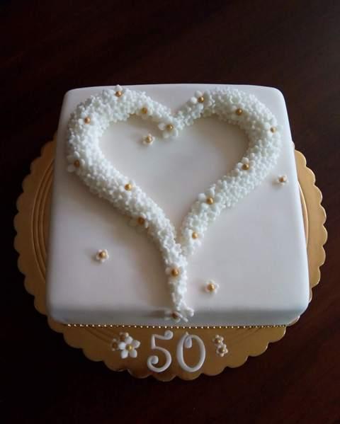 K 50.výročiu sobáša torta, Svadobné torty, zinka16 2