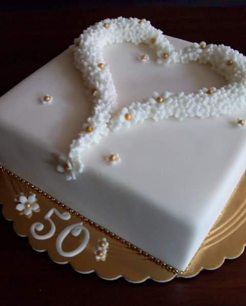 K 50.výročiu sobáša torta, Svadobné torty, zinka16