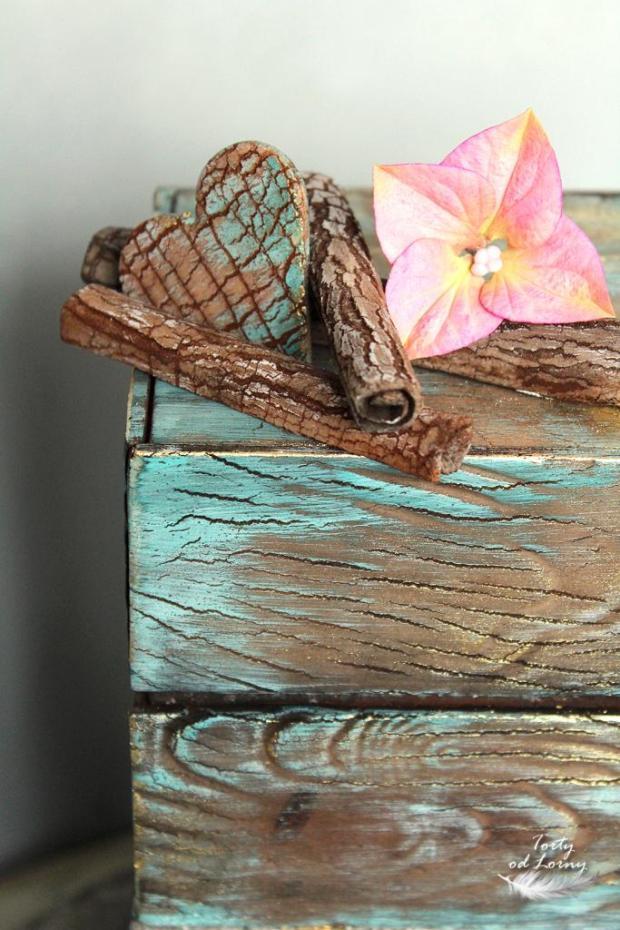 Efekt kameňa a dreva  torta, Narodeninové torty, Lorna 2