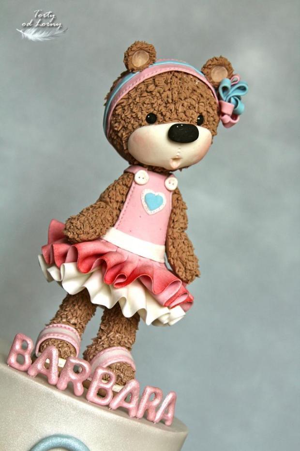 Detská torta s medvedíkom torta, Torty pre dievčatá, Lorna 2