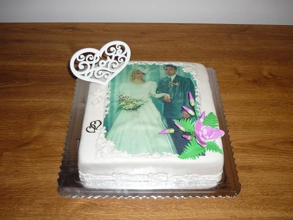 Na 25.výročie torta, Svadobné torty, jarka22
