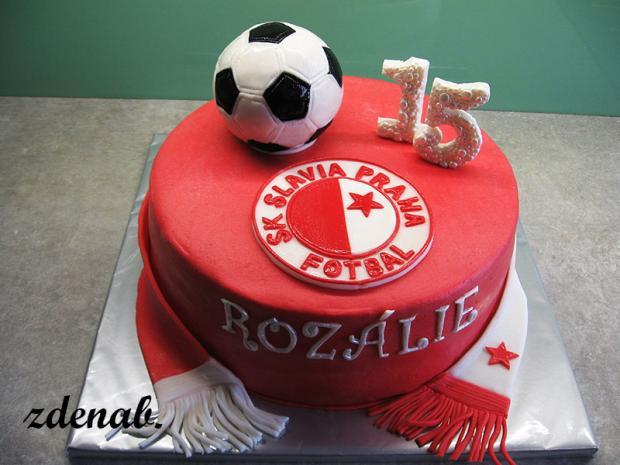 fotbalový torta, Športové torty, zdenab.