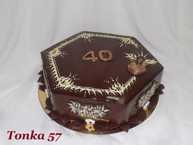narodeninová torta, Čokoládové torty, Tonka 57
