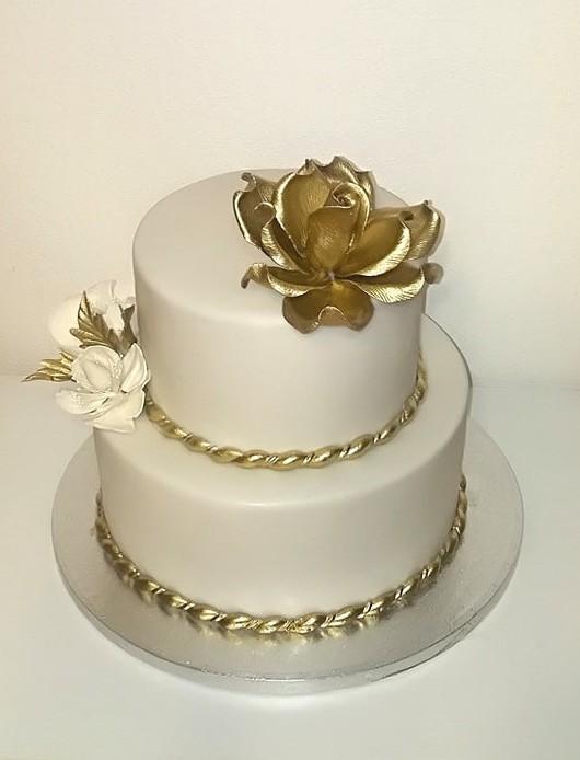 Svadobná torta, Svadobné torty, Monika1310
