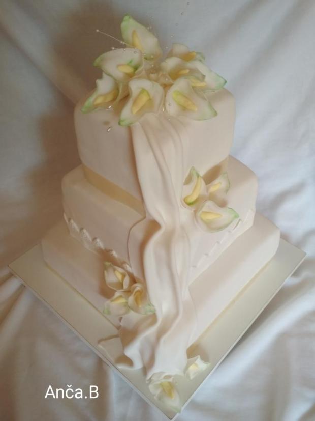 Svadobná 205 torta, Svadobné torty, Anca.B