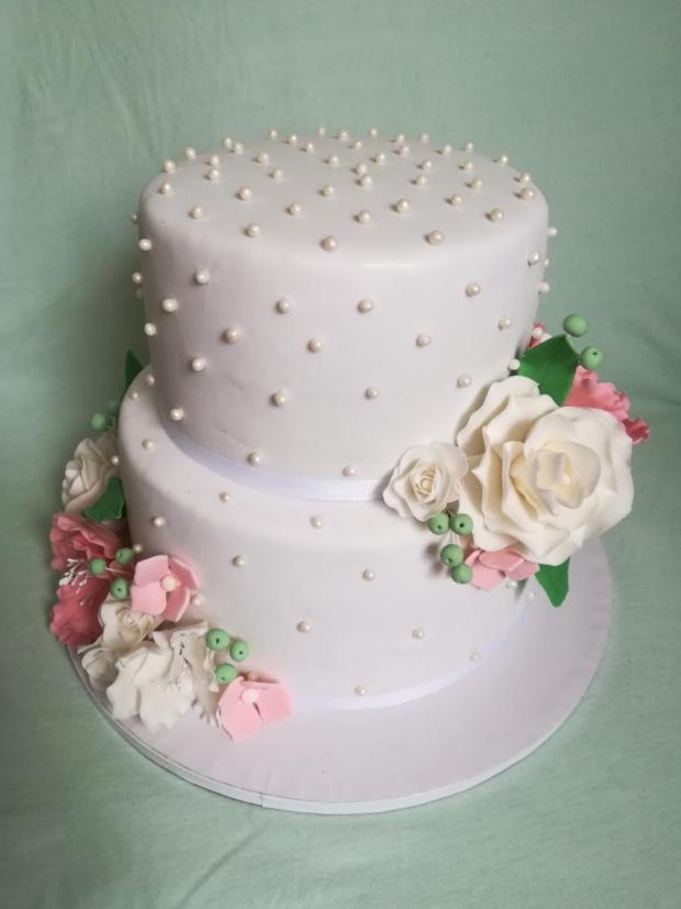 Svadobná podľa obrázka  torta, Svadobné torty, MartinaO