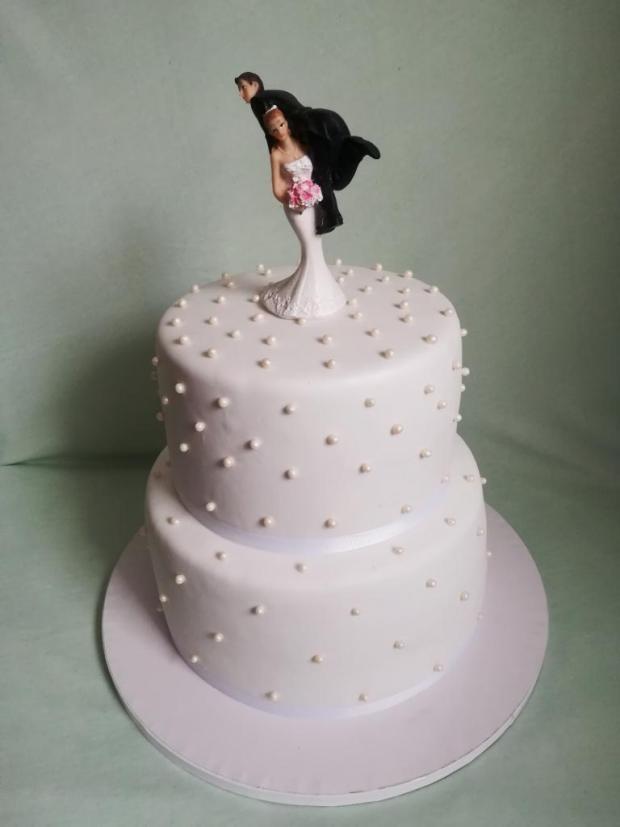 Svadobná na želanie  torta, Svadobné torty, MartinaO