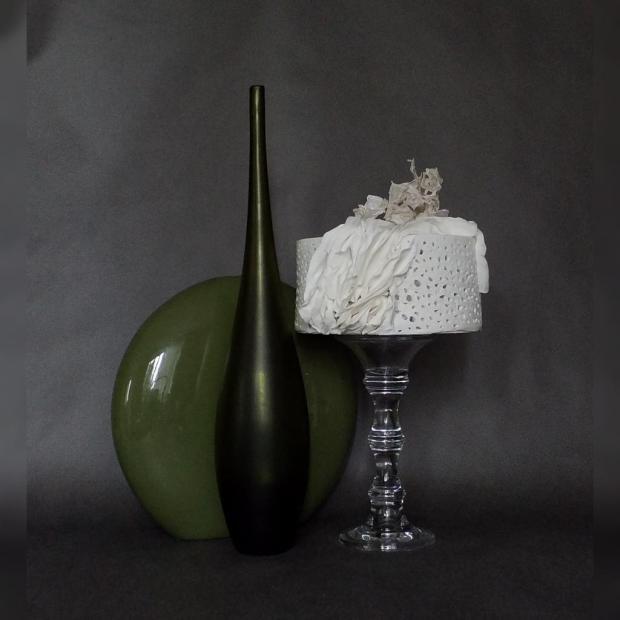 Biela inšpirovaná ryžovým porcelánom torta, Svadobné torty, Tasso 2