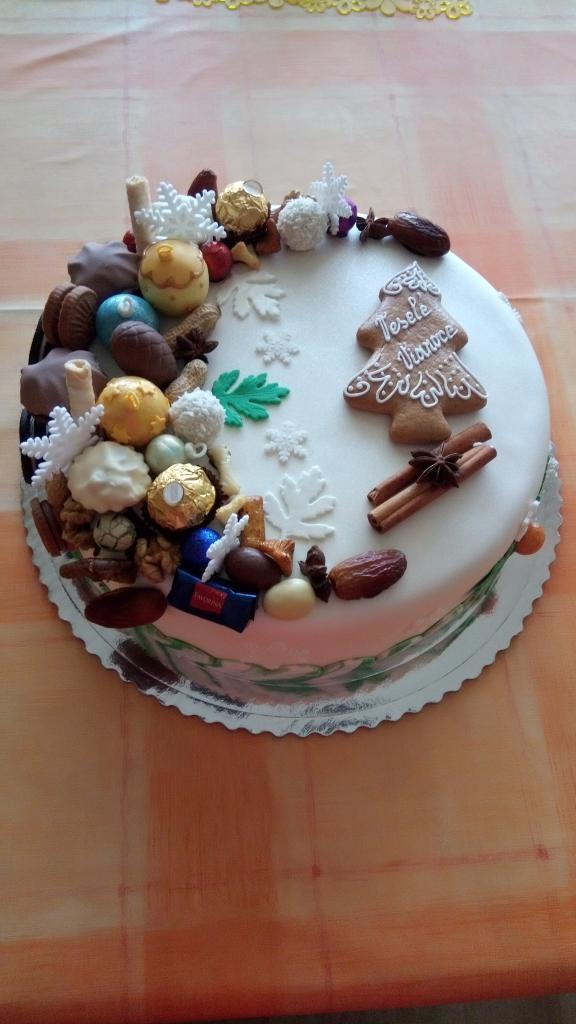 Vianočná 2 torta, Vianočné torty, Mária Vašová