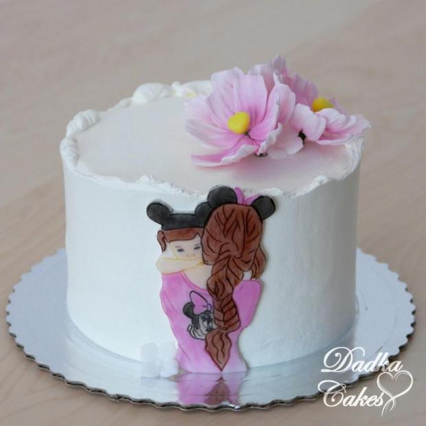 pre maminku torta, Narodeninové torty, DadkaCakes