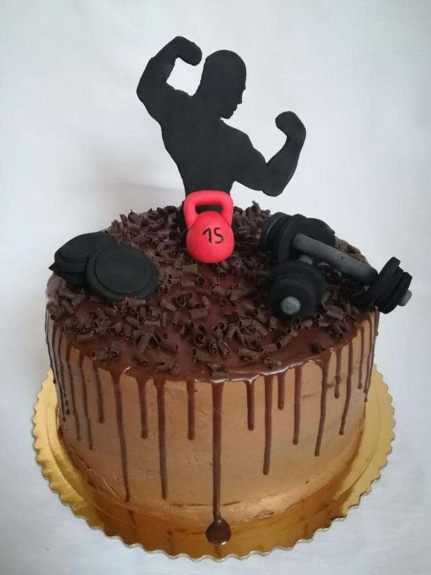 Pre kulturistu torta, Športové torty, MartinaO