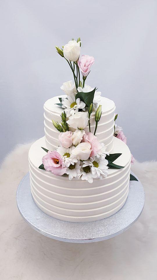 Svadobná torta torta, Svadobné torty, Miriam 17 4