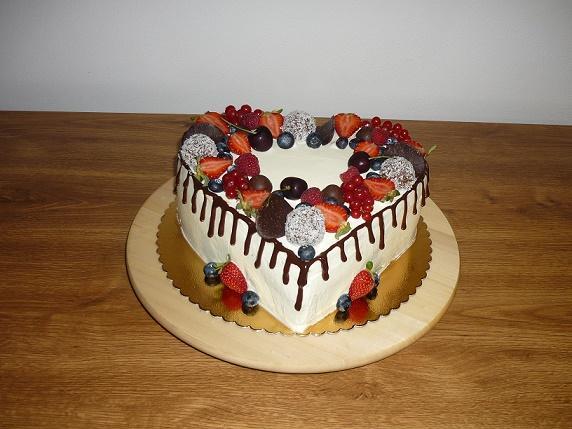 S ovocím torta, Narodeninové torty, jarka22