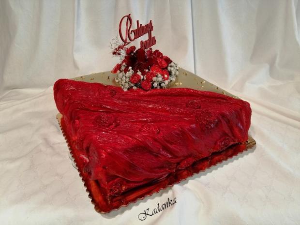 Rubínová svadba... torta, Svadobné torty, Kadanka 3