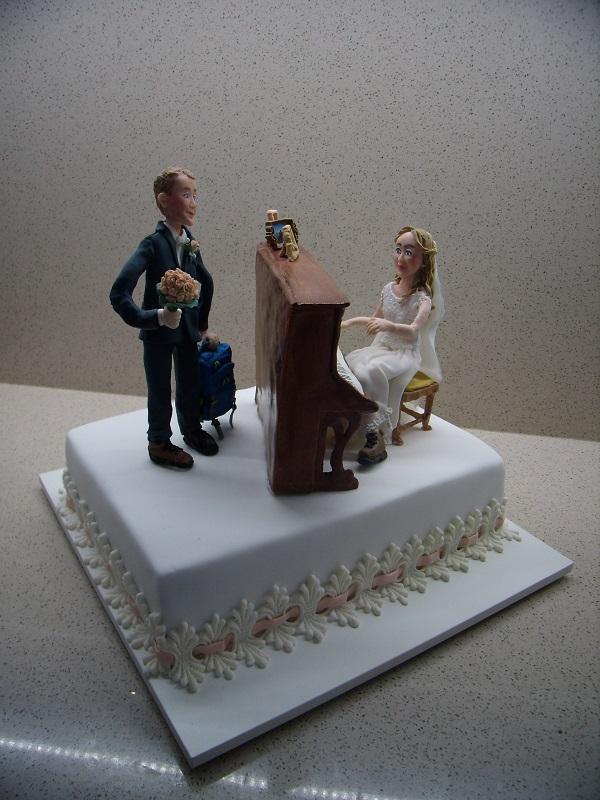svadobná pre turistov torta, Svadobné torty, mariaJ 4