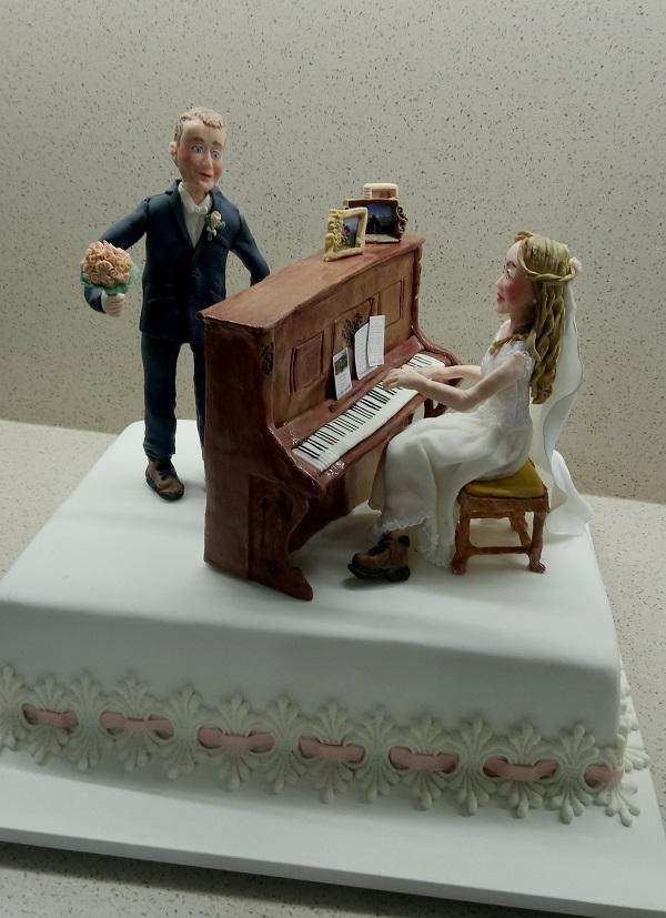 svadobná pre turistov torta, Svadobné torty, mariaJ