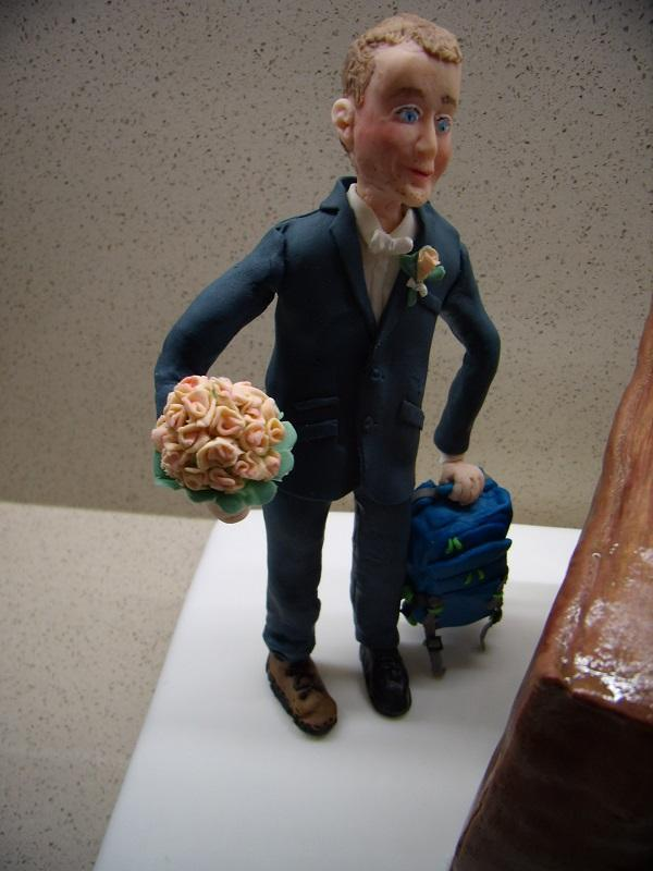 svadobná pre turistov torta, Svadobné torty, mariaJ 3