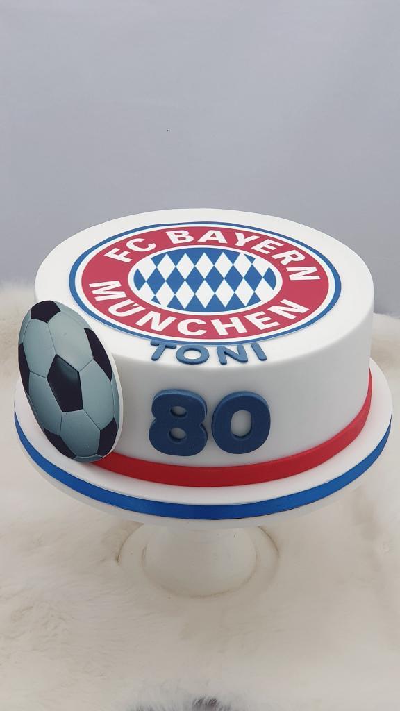 Narodeninová pre fanúšika FC BAYERN torta, Športové torty, Miriam 17