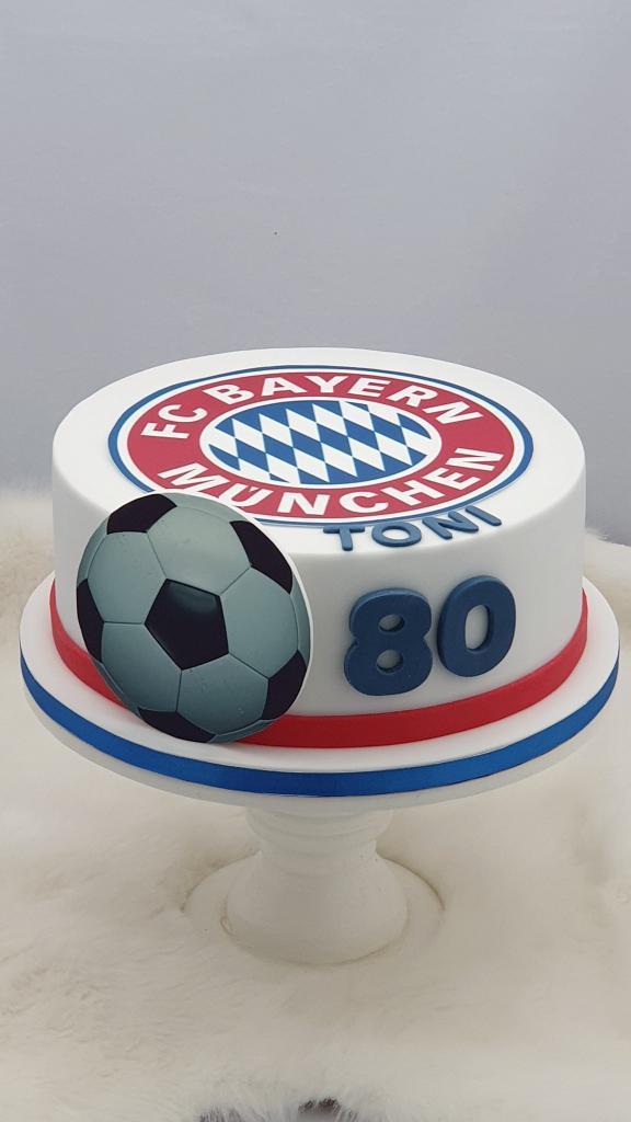 Narodeninová pre fanúšika FC BAYERN torta, Športové torty, Miriam 17 2