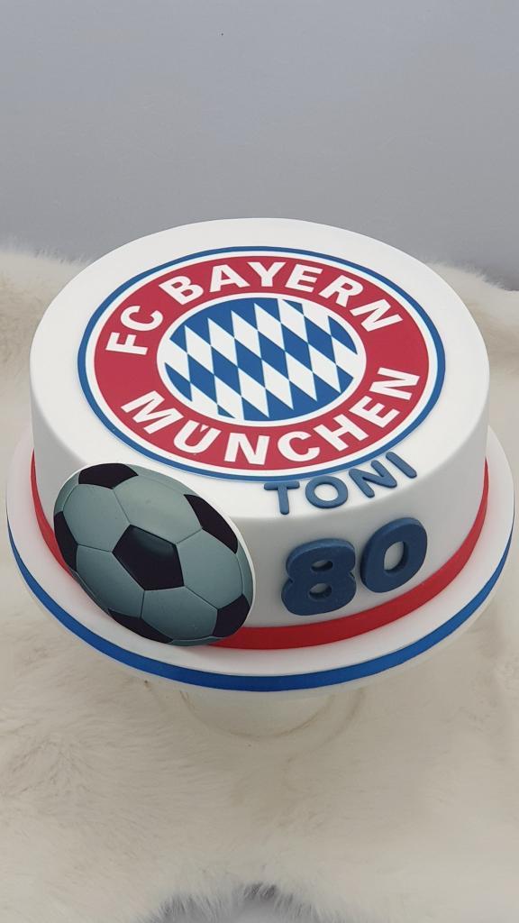 Narodeninová pre fanúšika FC BAYERN torta, Športové torty, Miriam 17 3
