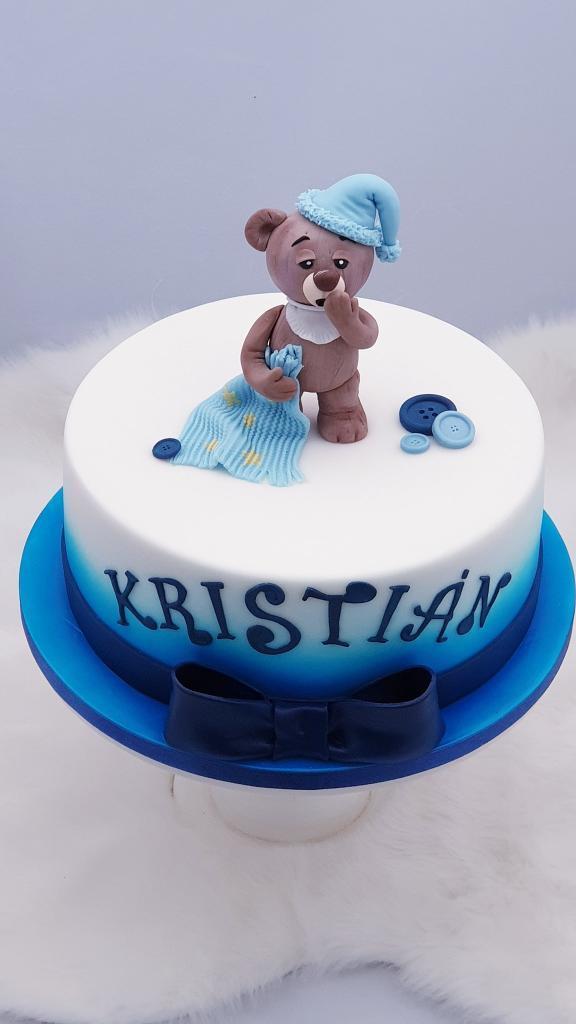 Macko pre Kristiánka torta, Ostané torty pre deti, Miriam 17 2