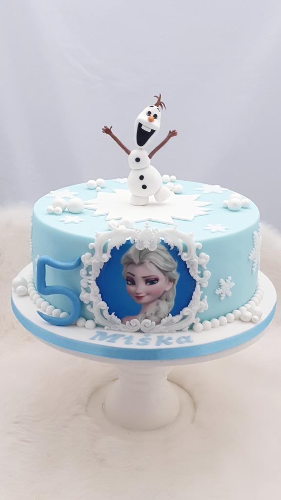 Ľadové kráľovstvo torta, Narodeninové torty, Miriam 17