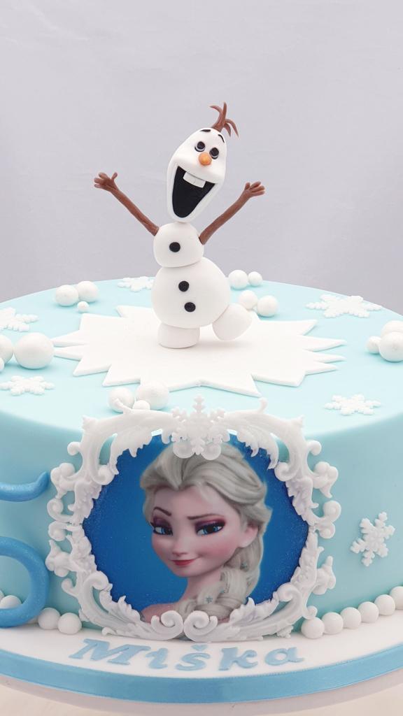 Ľadové kráľovstvo torta, Narodeninové torty, Miriam 17 2