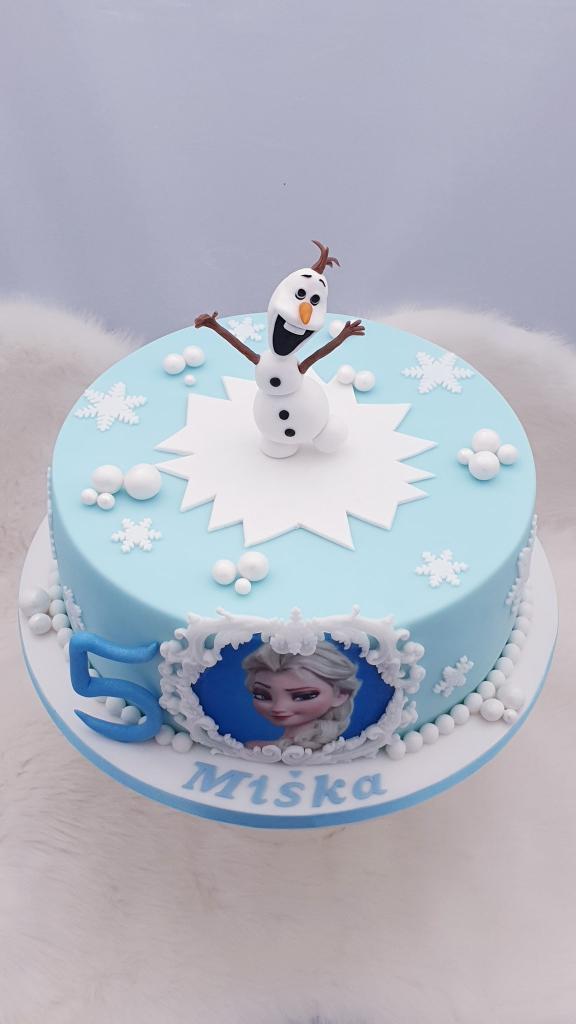 Ľadové kráľovstvo torta, Narodeninové torty, Miriam 17 3
