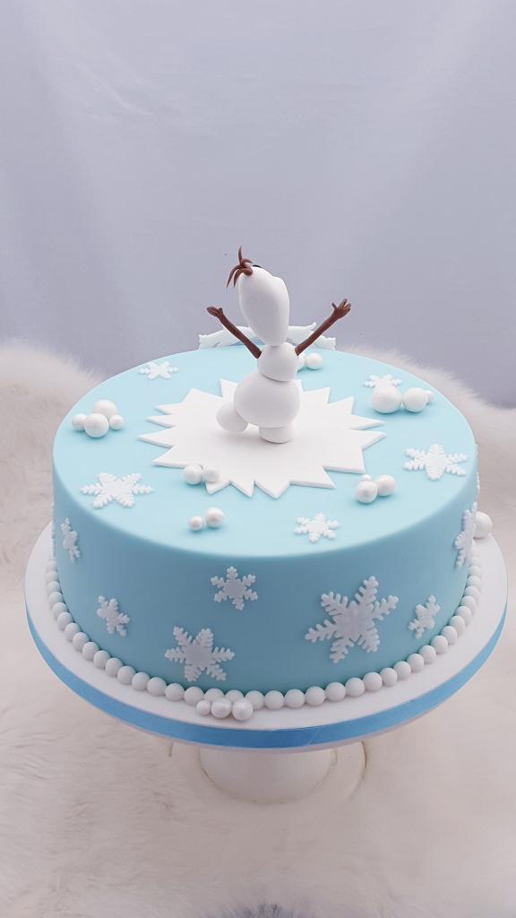 Ľadové kráľovstvo torta, Narodeninové torty, Miriam 17 4