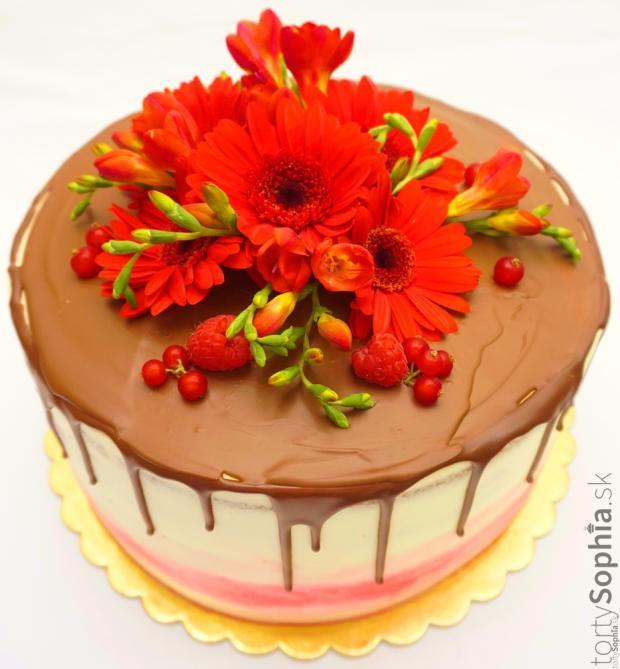 K výročiu torta, Drip torty, tortysophia.sk