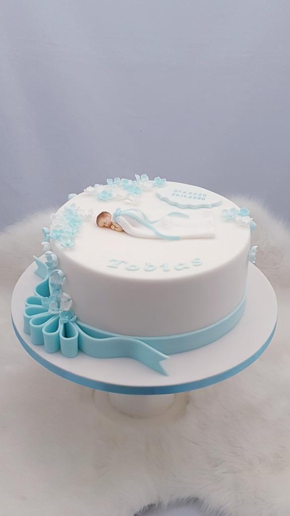 Krstinová pre Tobiaska torta, Torty na krstiny, Miriam 17