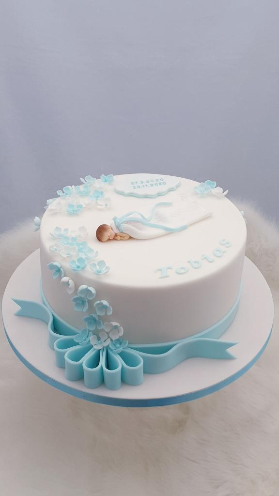 Krstinová pre Tobiaska torta, Torty na krstiny, Miriam 17 4