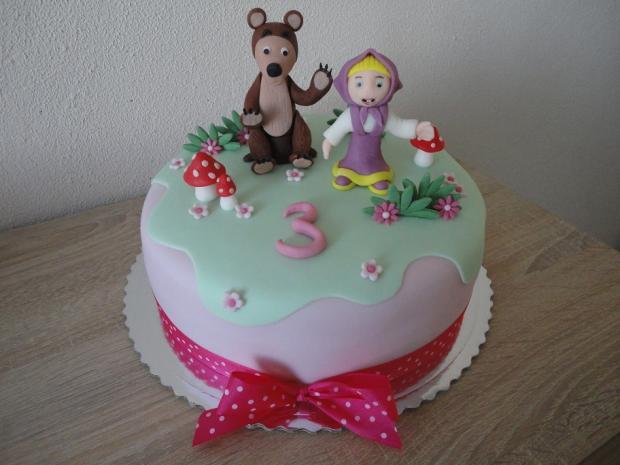 narodeninová torta, Rozprávkové torty, Janka208