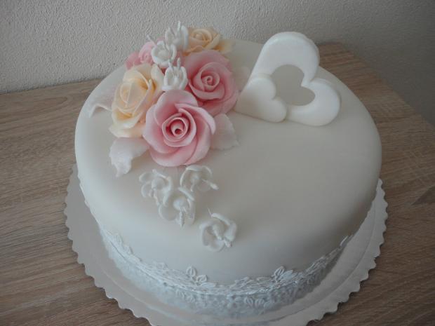 svadobná torta, Svadobné torty, Janka208