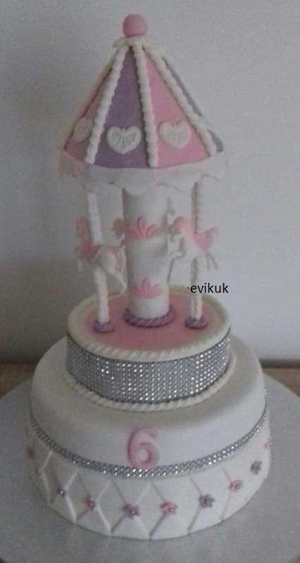 kolotoč vnučke torta, Ostané torty pre deti, evikuk