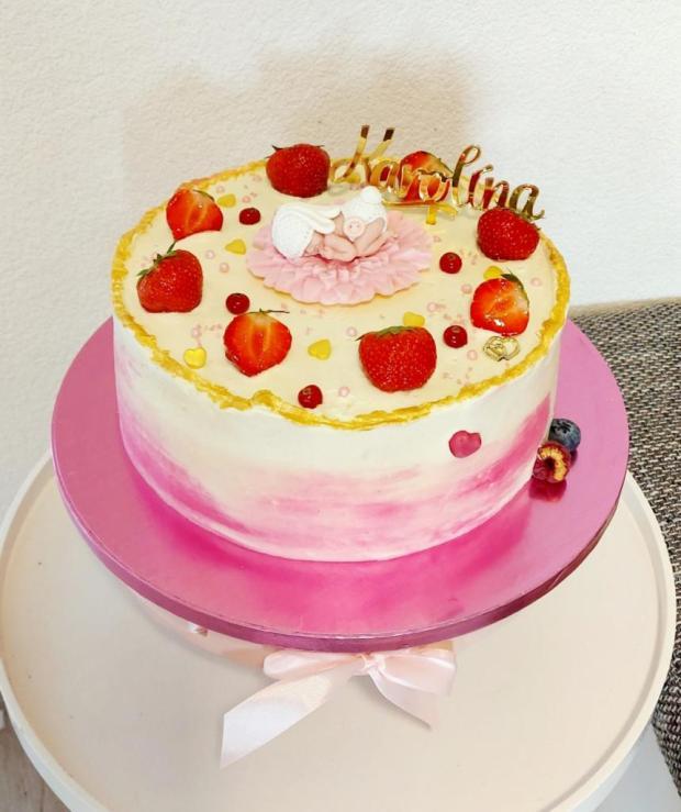 Krstinová torta torta, Torty na krstiny, Rogjasweet