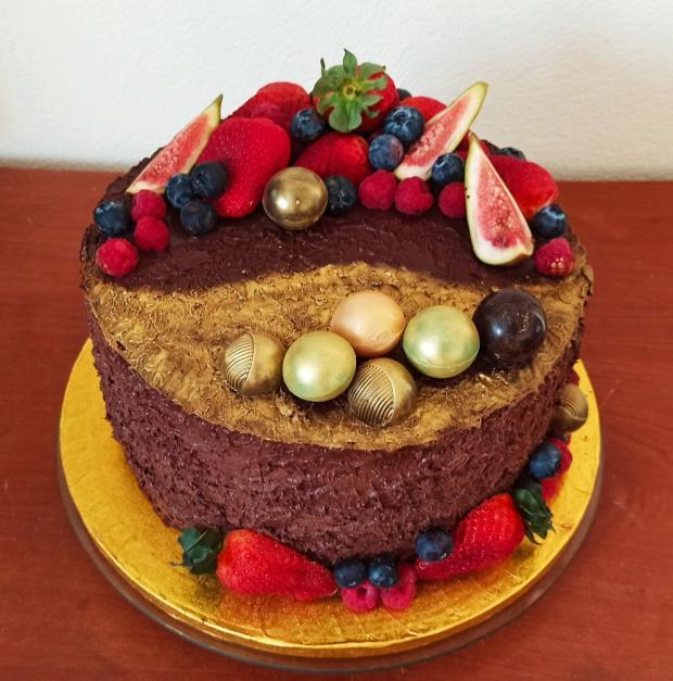 Narodeninová torta, Čokoládové torty, mavera