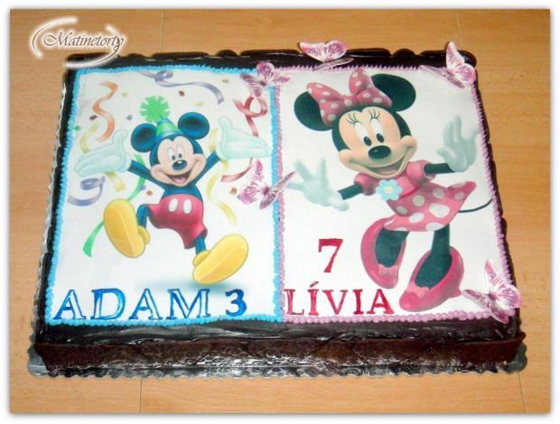 Narodeninová torta, Čokoládové torty, Tina75