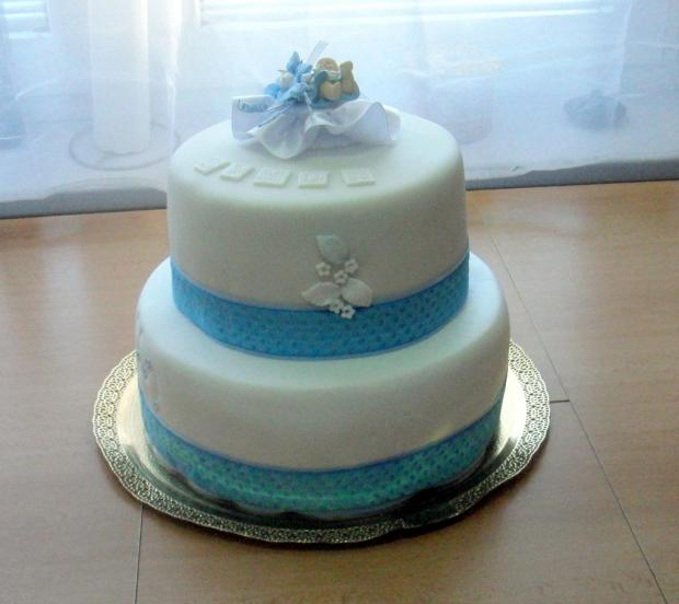 krstinova torta, Torty na krstiny, Martina Prokopovičová